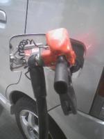 ガソリン値上げ