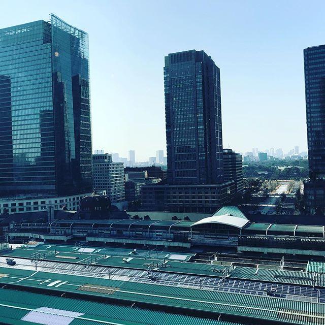 東京は一転暖かい( ˊᵕˋ* ) (Instagram)