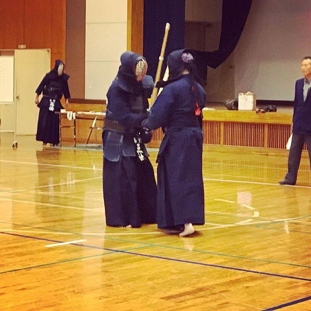 本日は地元の試合。男女混合総当たりは、色々な剣道に出会えて楽しかったです (Instagram)